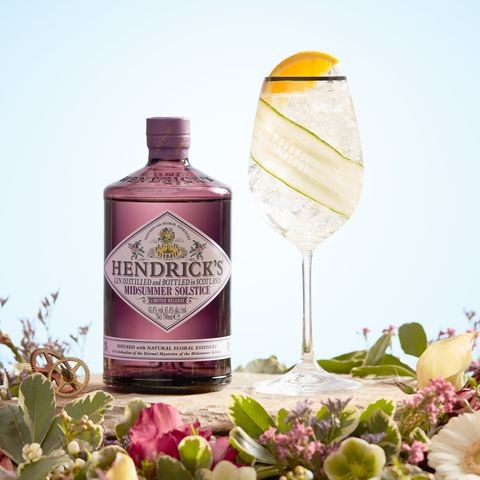 Hendrick's Midsummer Solstice Gin sounds like our sort of tipple