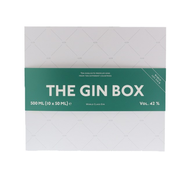 The Gin Box- World Tour Edition 10 x 5 cl 42° 0.5L