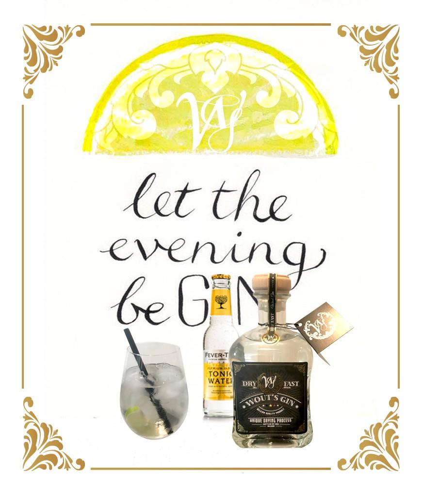 Wout's gin 0.7l - 44% Vol.
