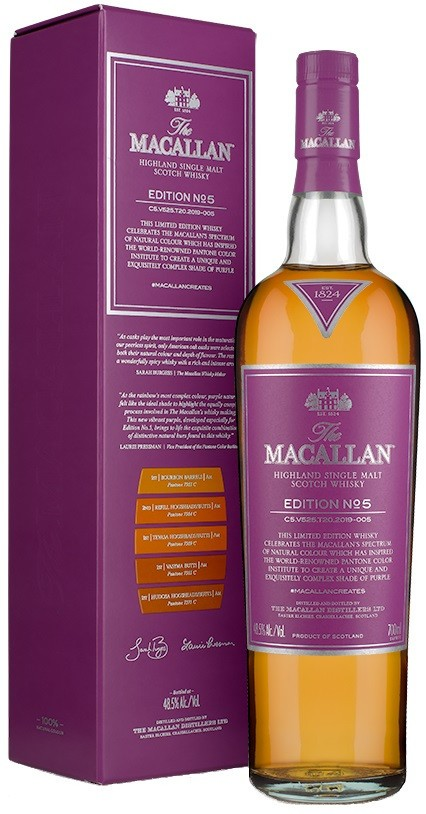 Macallan Edition N°5 48.5° 0.7L