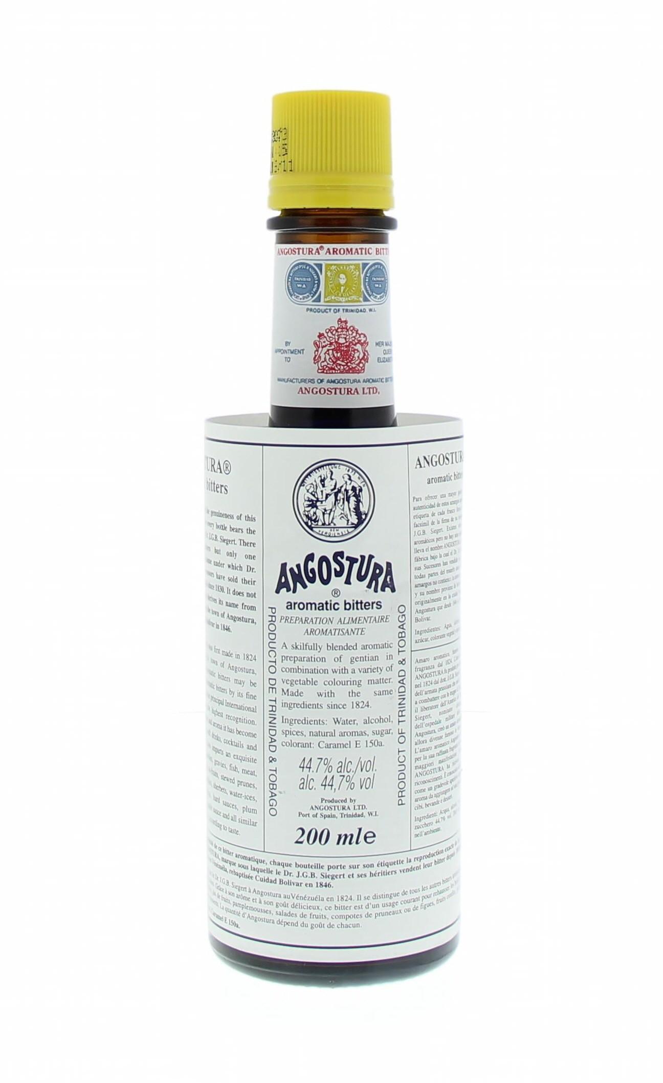Angostura Aromatic Bitters 44.7° 0.1L