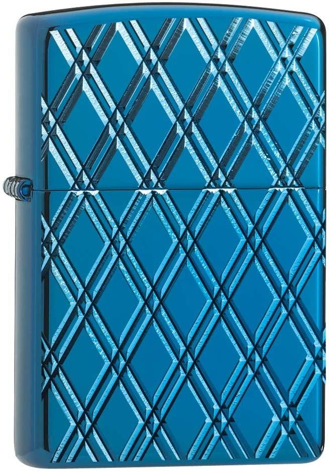 Zippo Armor HP Blue Diamonds