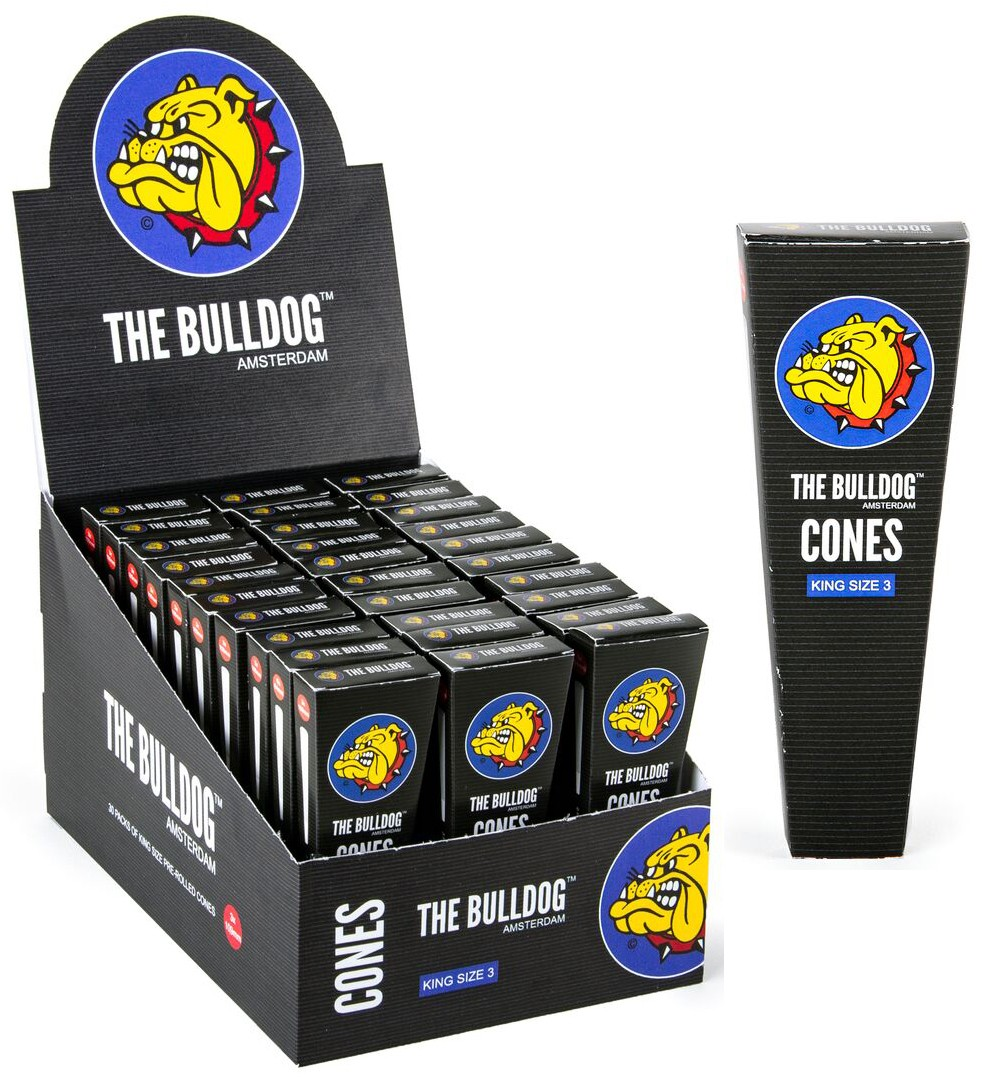 BULLDOG CONES KS 3-PACK