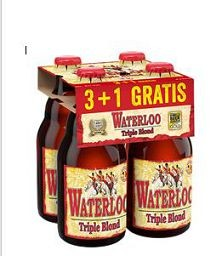 WATERLOO TRIPLE BL.33CL 3+1GR