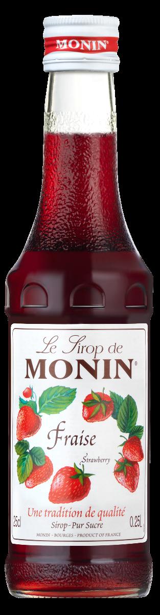 Sirop Monin Fraise 25 cl