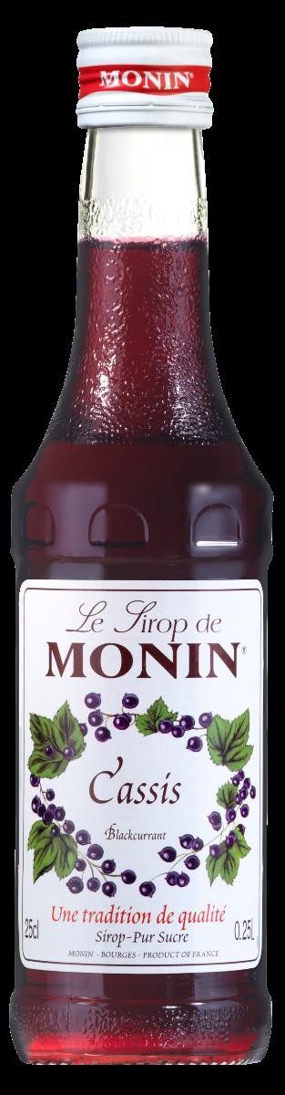 Sirop Monin Cassis 25 cl