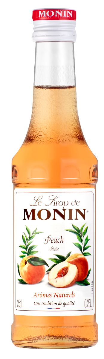Sirop Monin Pêche 25 cl