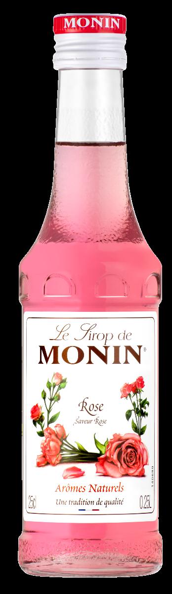 Sirop Monin Saveur Rose 25 cl