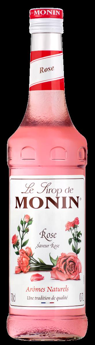 Sirop Monin Saveur Rose 70 cl