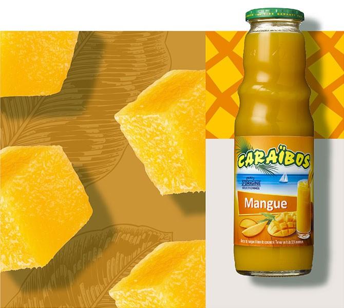 Caraïbos Mangue 1 Litre.
