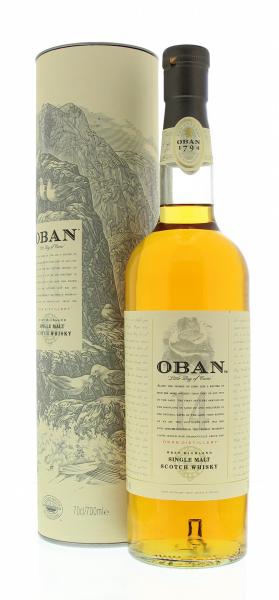 Oban 14 Years 43° 0.7L