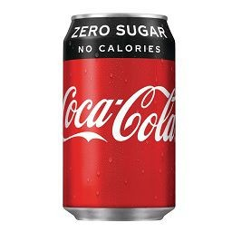 COCA COLA ZERO 33CL CANS