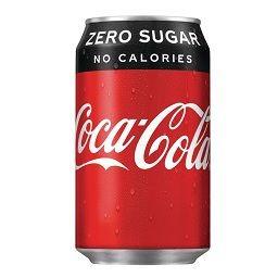 COCA COLA ZERO 33CL CANS