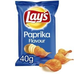 LAYS CHIPS PAPRIKA 40G.