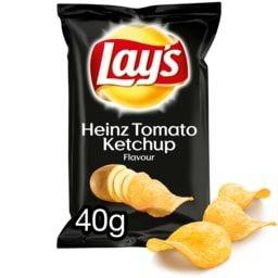 LAYS HEINZ TOMATO KETCHUP 40G