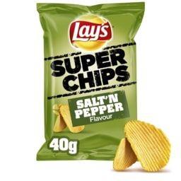 LAYS SUPERCHIPS SALT &...