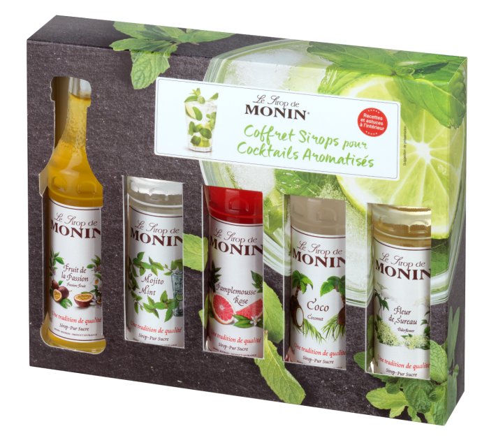 MONIN Cocktail syrup gift...