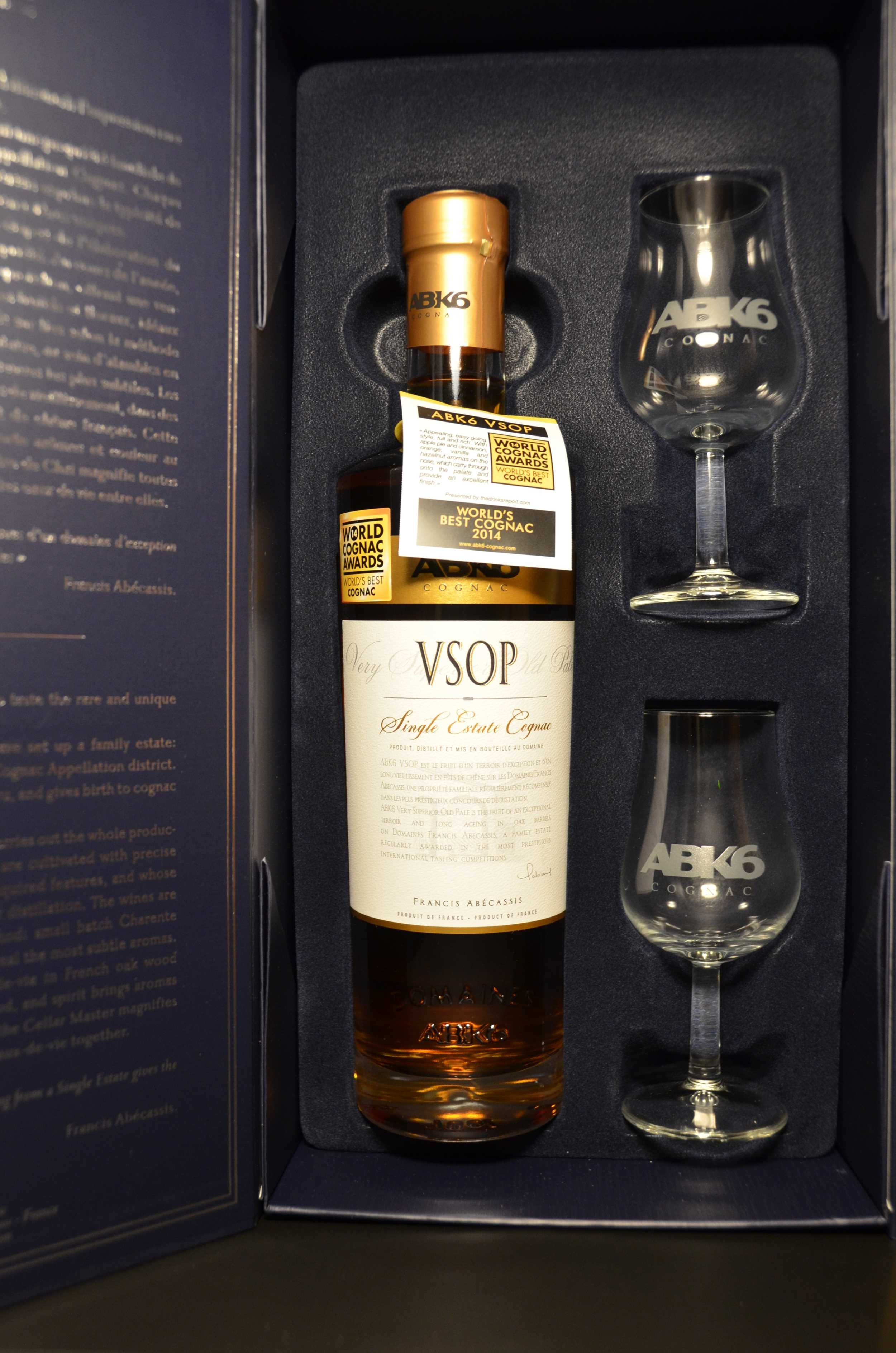 Cognac ABK6 VSOP 40° + 2...