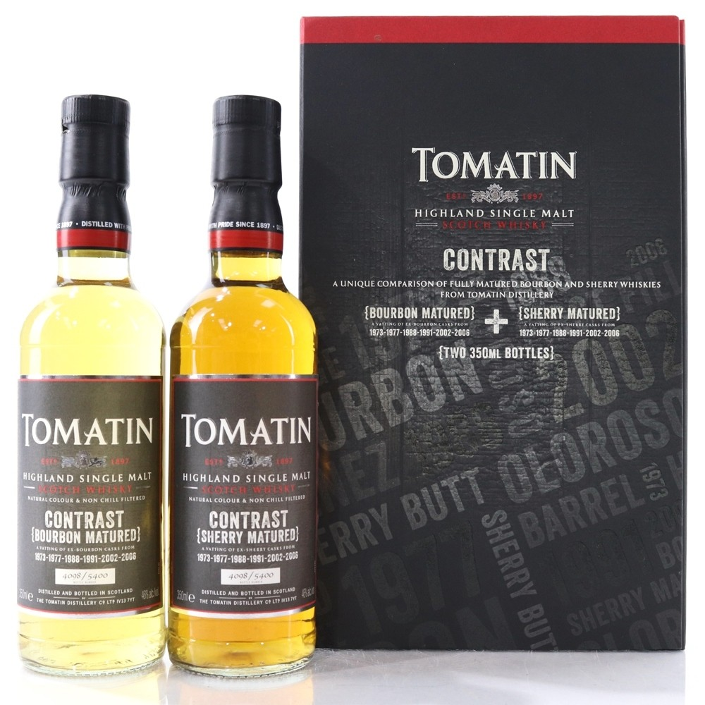 Tomatin Contrast Bourbon &...