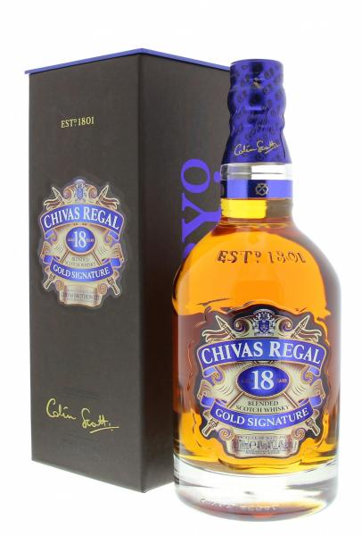 Chivas Regal 18 Years 40° 0.7L