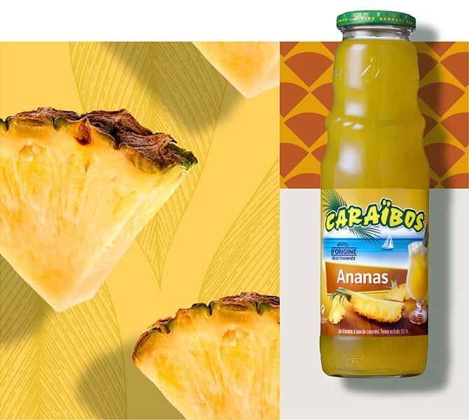 Caraïbos Ananas 1 Litre