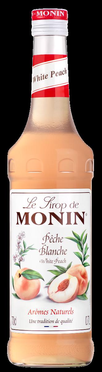 SIROP Monin WHITE PEACH 70 CL