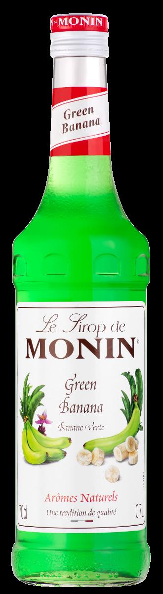 SIROP Monin GREEN BANANA 70 CL
