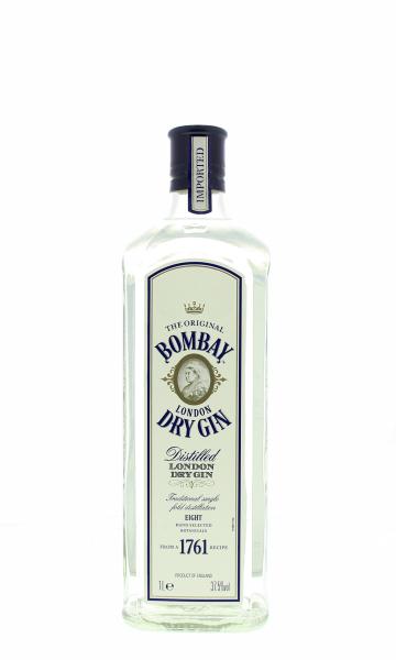 Bombay Dry Gin 37.5° 1L