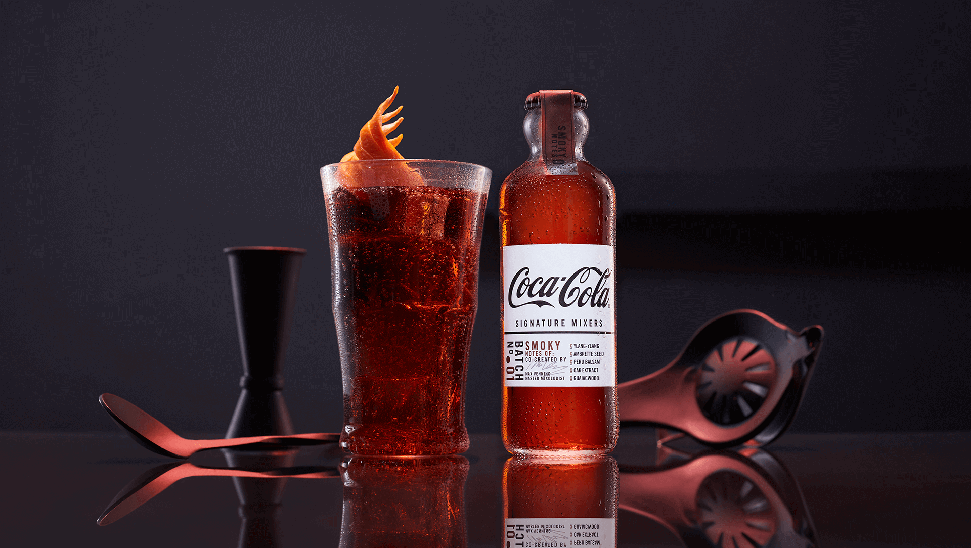 COCA-COLA SIGNATURE MIXERS...