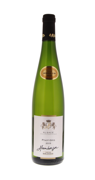 Pinot Gris Médaille d'Or...