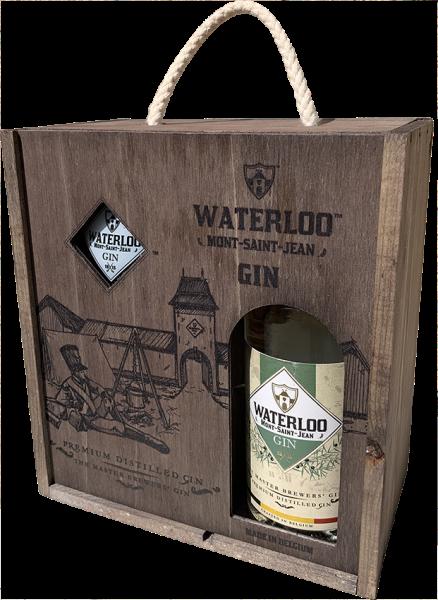 Coffret Waterloo Gin + 1...