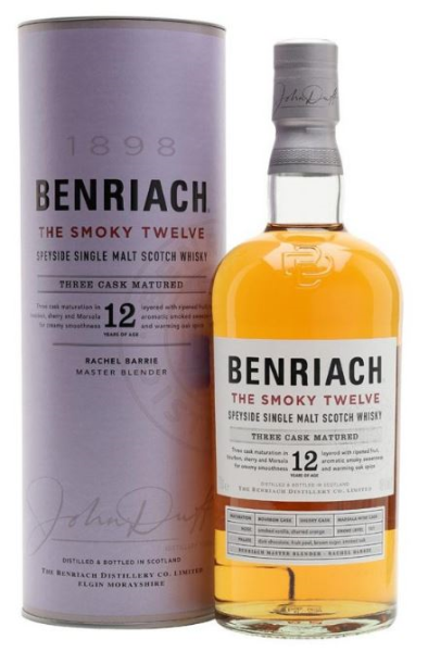 Benriach 12 Years Smoky 46°...