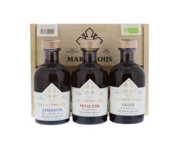 Maredsous Gin Bio Giftbox 3...