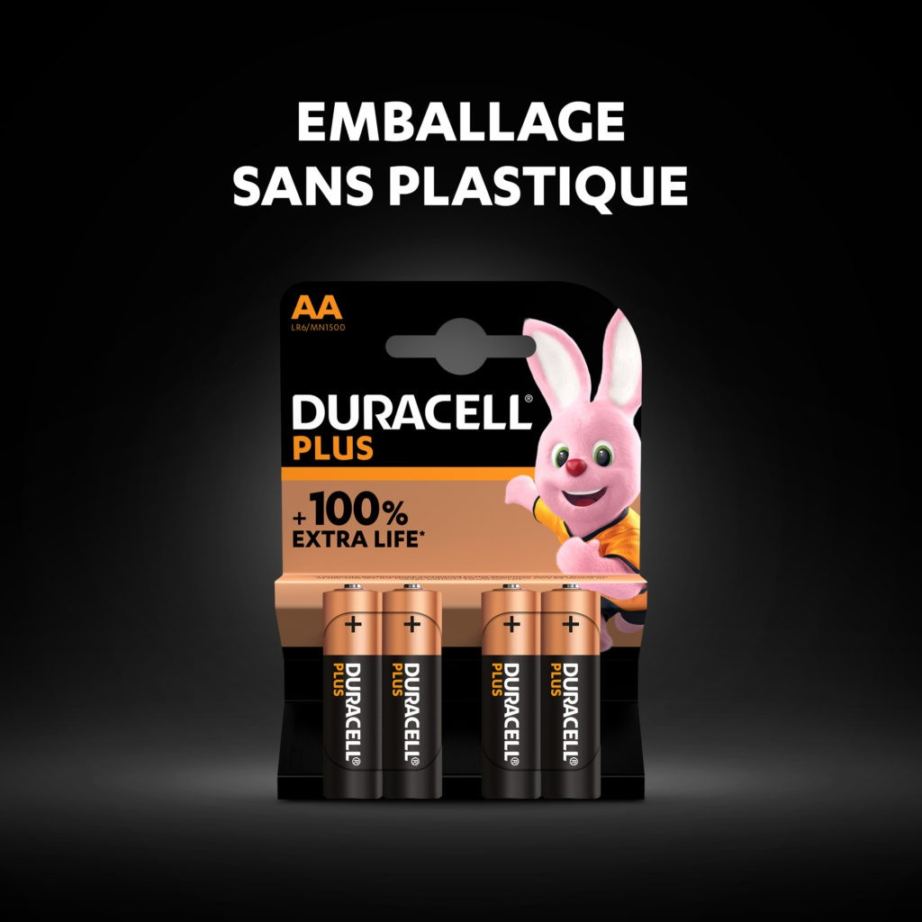 DURACELL PLUS POWER AA X 4...