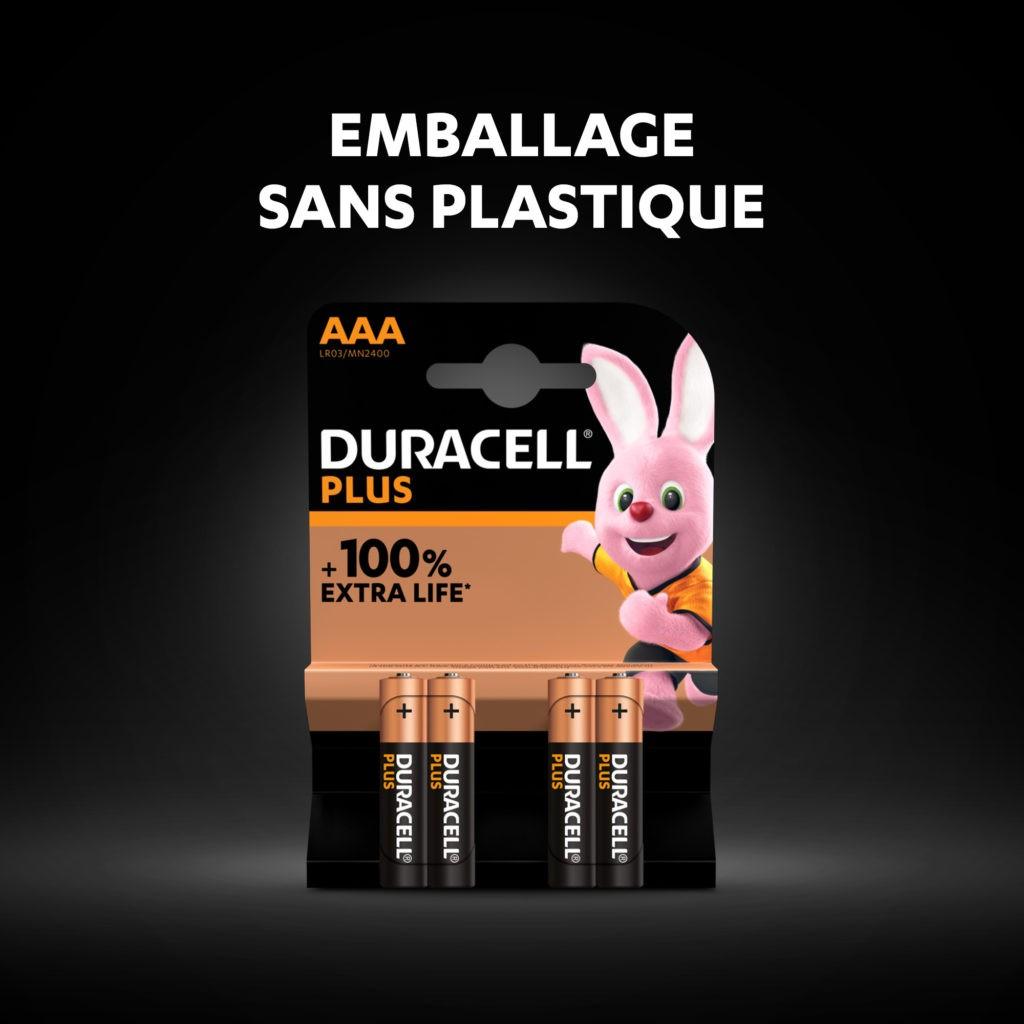 DURACELL PLUS 4 x LR03 AAA