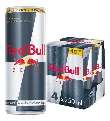 RED BULL Zero Calories 4 x...