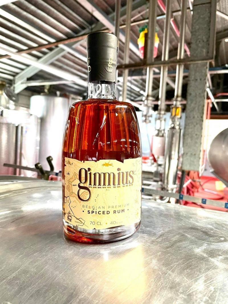 gimmius spiced rum 0.7l. - 40%