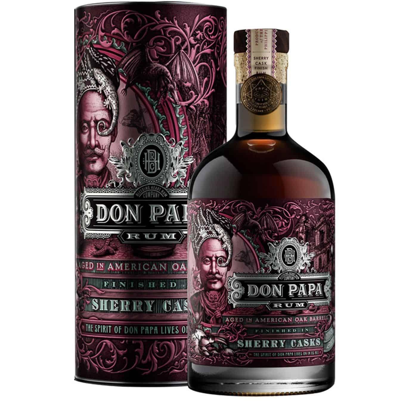 Rum Don Papa Sherry Casks 0.7l