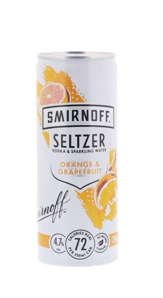 Smirnoff Seltzer Orange &...