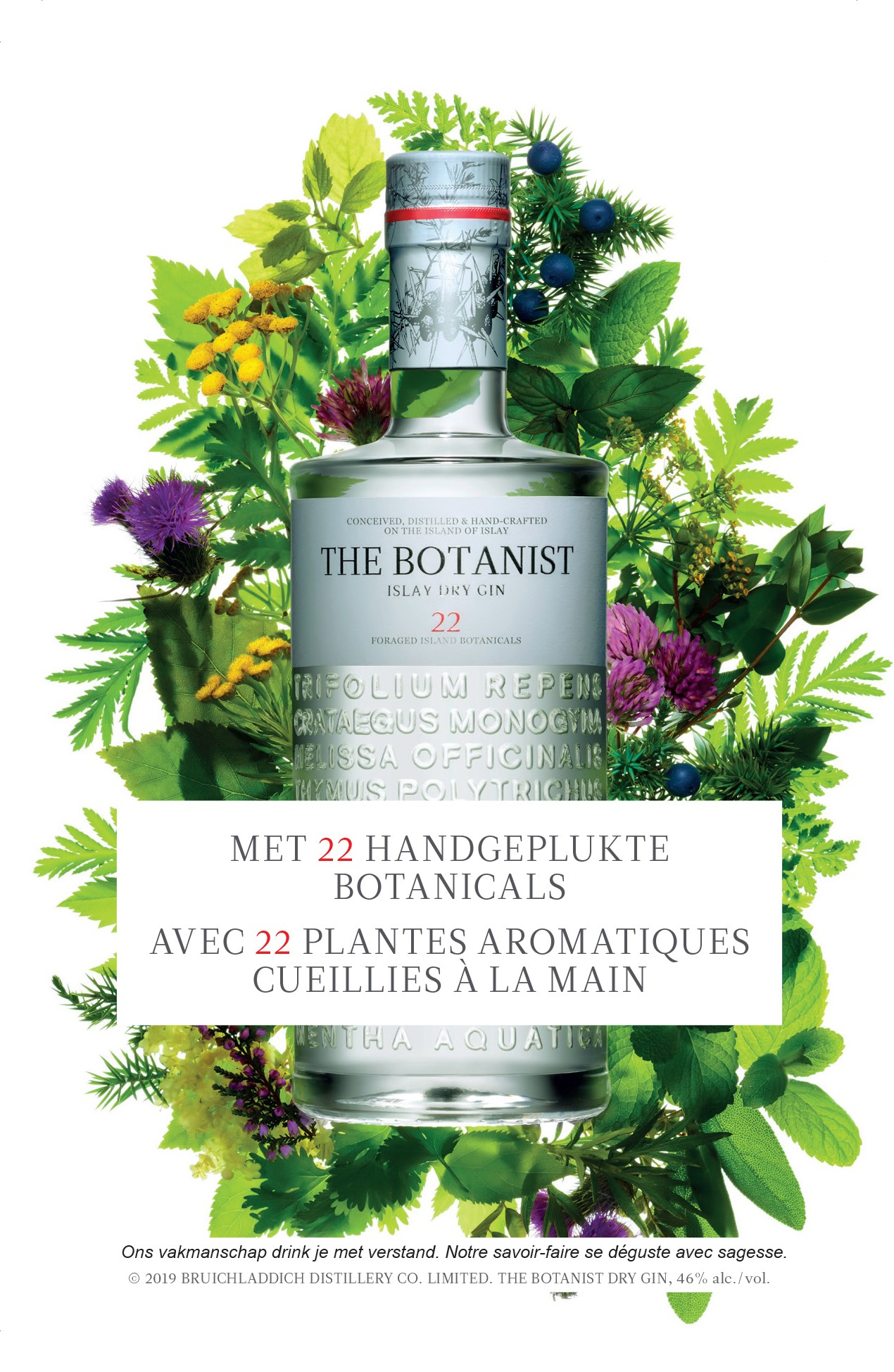 The Botanist Gin 46° 0.7L