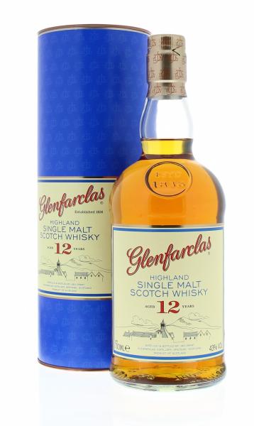 Glenfarclas 12 Years 43° 0.7L