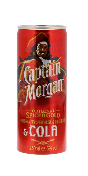 Captain Morgan & Cola Cans...