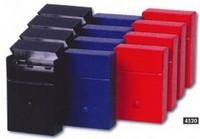 CIGARETTE BOX METAL BLUE