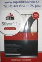 MACHINE GIZEH SILVER TIP POUR TUBES