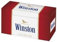 250 TUBES POUR CIGARETTES WINSTON