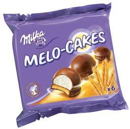 MILKA MELO-CAKES 6PACK 100G.