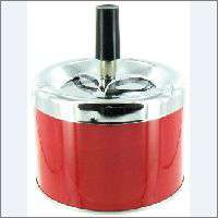 SPINNING ASHTRAY RED