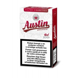 Austin Red 100 S 10 X 20 Cigarettes Waterloo Brabant Wallon