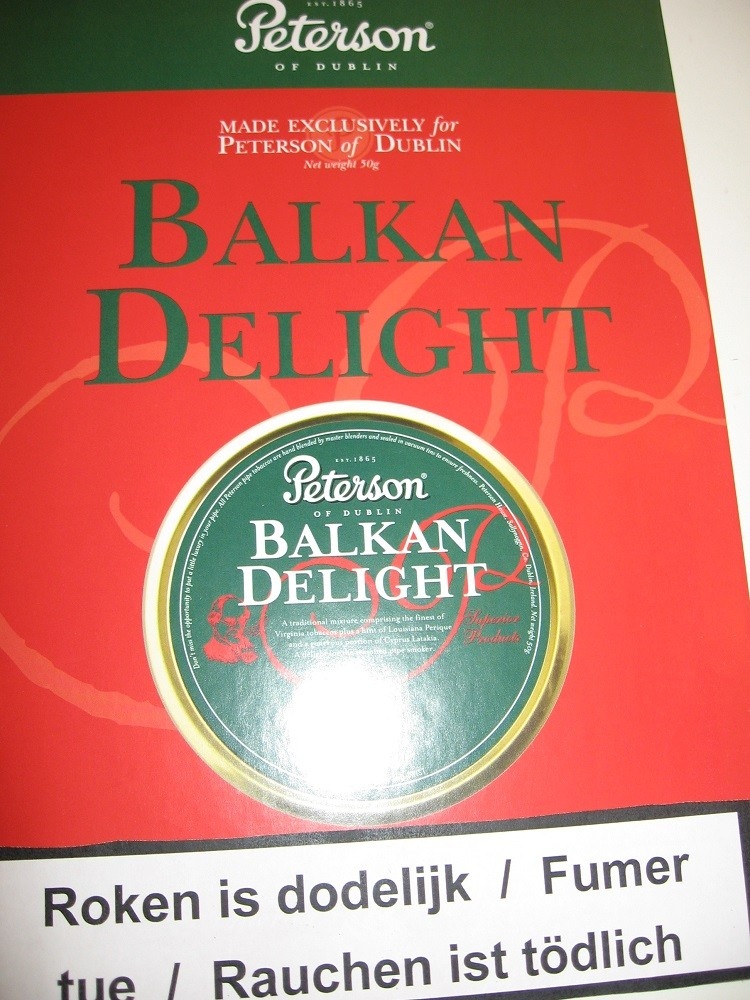 TABAC PETERSON BALKAN DELIGHT