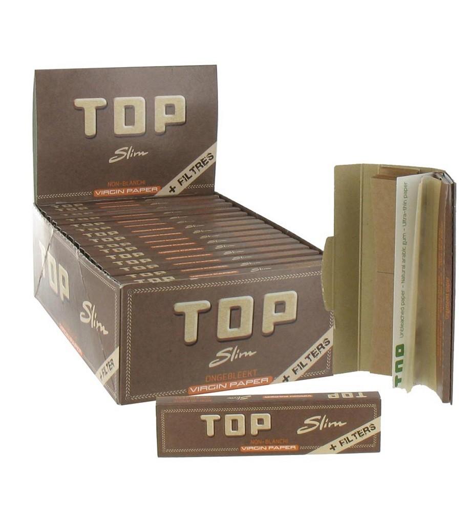 TOP BROWN VIRGIN PAPER +...